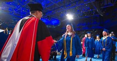 past graduation at University of Buffalo