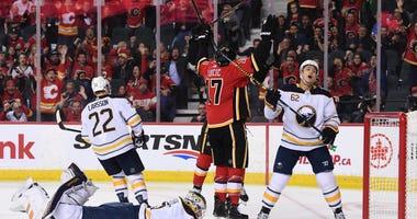 Buffalo Sabres at Calgary Flames