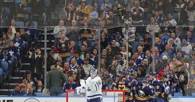 Buffalo Sabres celebrate