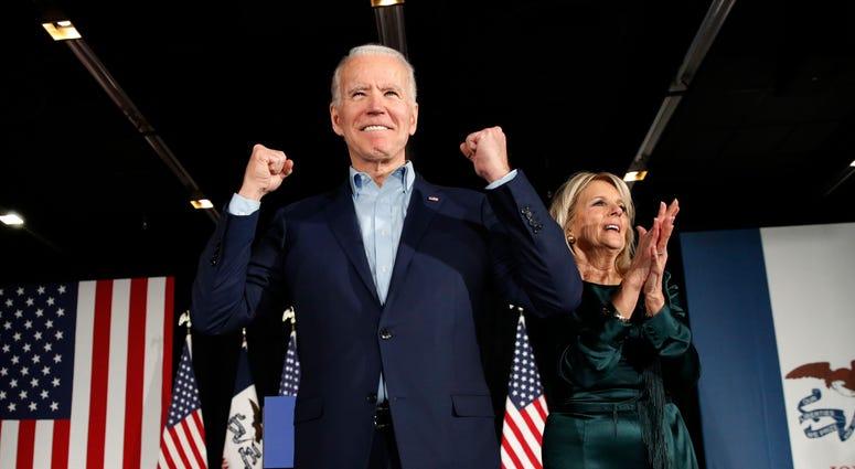 The Latest Caroline Kennedy Endorses Biden Amid Focus On Nh