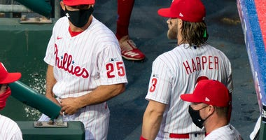 Leading Off: Phillies end layoff, visit Judge, Cole, Yankees
