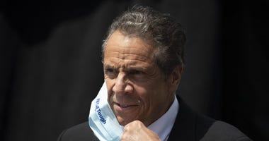 Cuomo with Mask