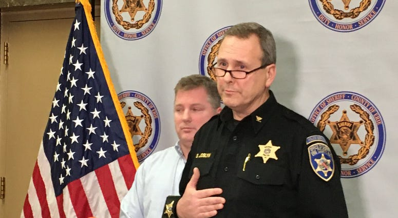 Erie County Sheriff Office News Conference on Collins shooting