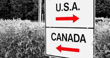 Port of entry between U.S. and Canada
