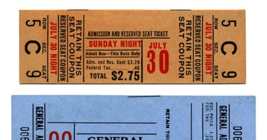 Ticket Stubs are a thing of the past