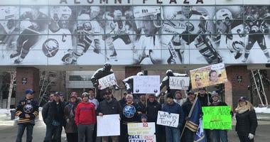 Sabres Fan Protest