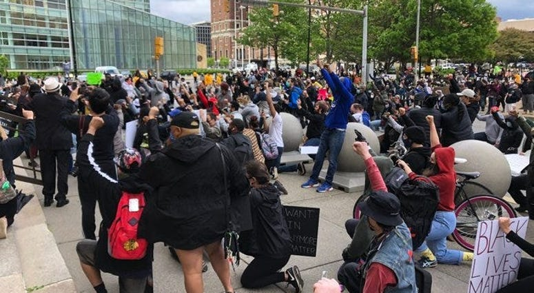 Buffalo Police Brutality Protest