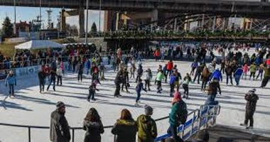 Canalside Buffalo Skating