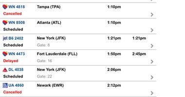 Air Travel Following Storm