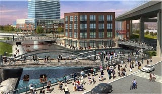 Explore and More Canalside Rendering