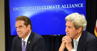 Governor Andrew Cuomo and former Secretary of State John Kerry