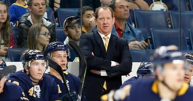 Sabres Head Coach Phil Housley