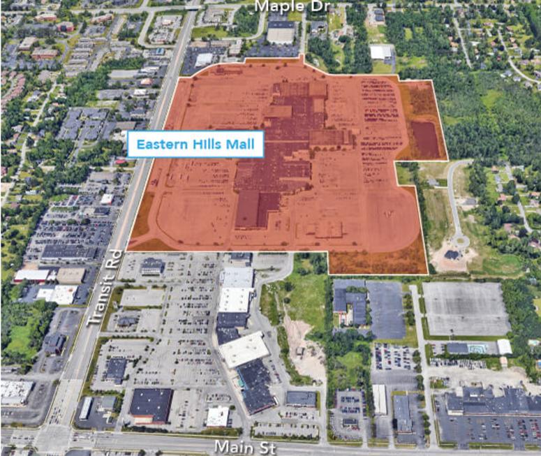 Eastern Hills Mall Plan (Uniland Photo)