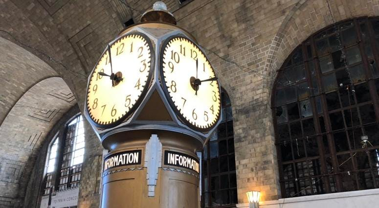Central Terminal to restore former waiting room and restaurant