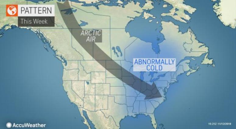 Long Range Winter Outlook Full of Cold and Snow