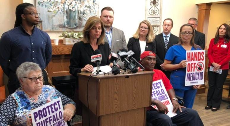 Local Officials Warn Against Huge Cuts to Nursing Homes