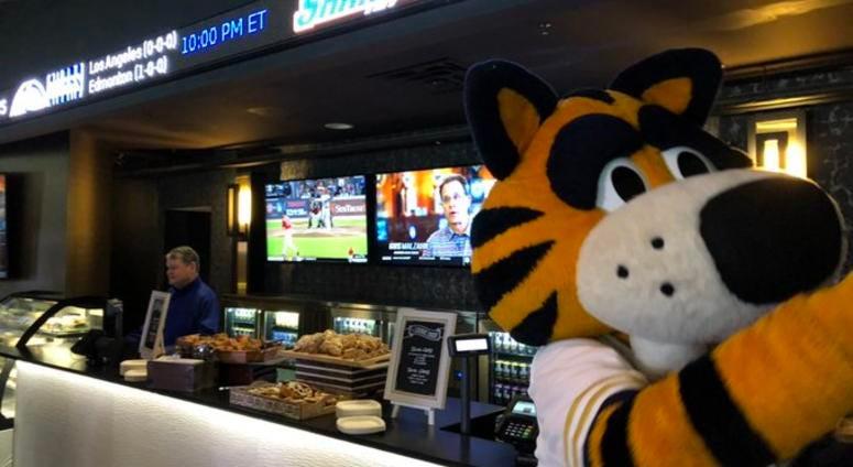 Sabres Unveil Seneca Sports Lounge Inside KBC