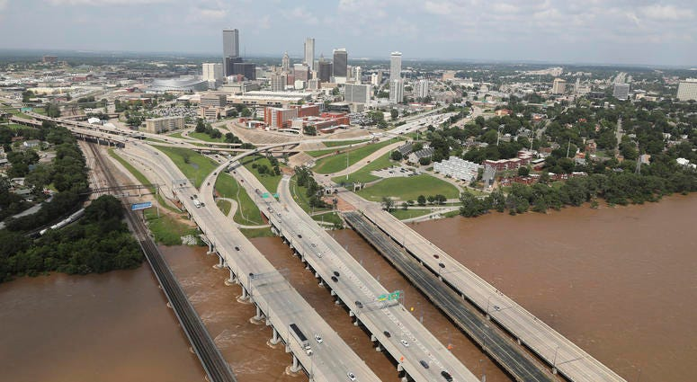 The Latest: Corps releases more water from dam in Tulsa | WBEN 930am