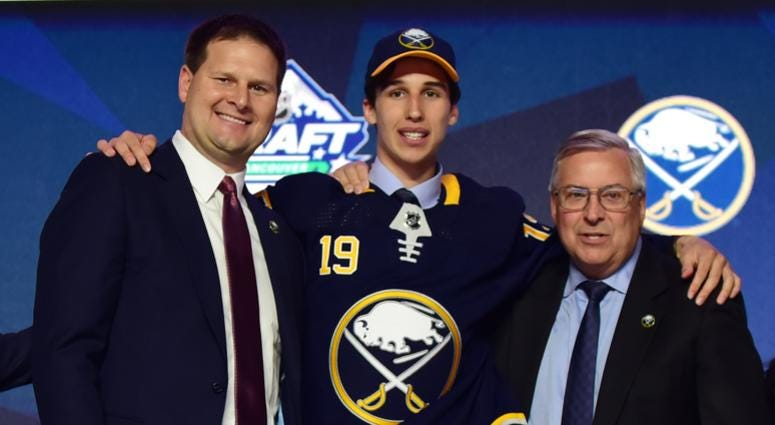Sabres Sign Cozens to Entry Level Deal