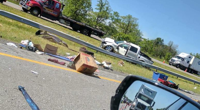 Woman killed in multi-vehicle crash on Thruway   WBEN 930am