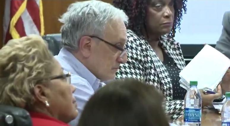 Carl Paladino and other members of the Buffalo School Board