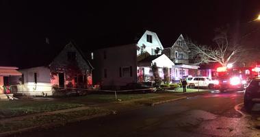 Fire on Ridge Park Avenue in Cheektowaga