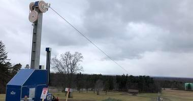 Ski Tow Rope Chestnut Ridge Park