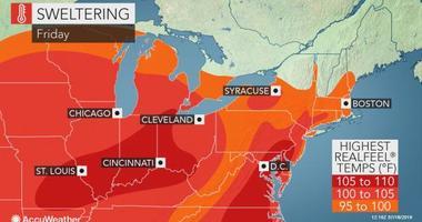 Summer Sizzler as Heat Wave Grips Region