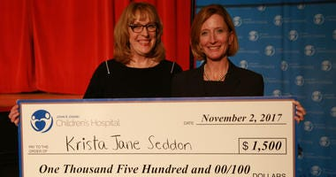 Lullaby contest winner Krista Jane Seddon.