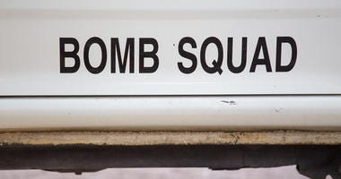 Bomb squad for explosive search and disposal