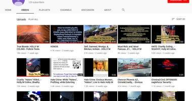 Colino YouTube page