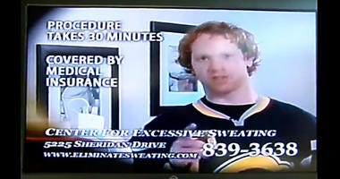 Old school Brian Campbell TV ad