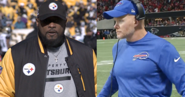 Mike Tomlin and Sean McDermott