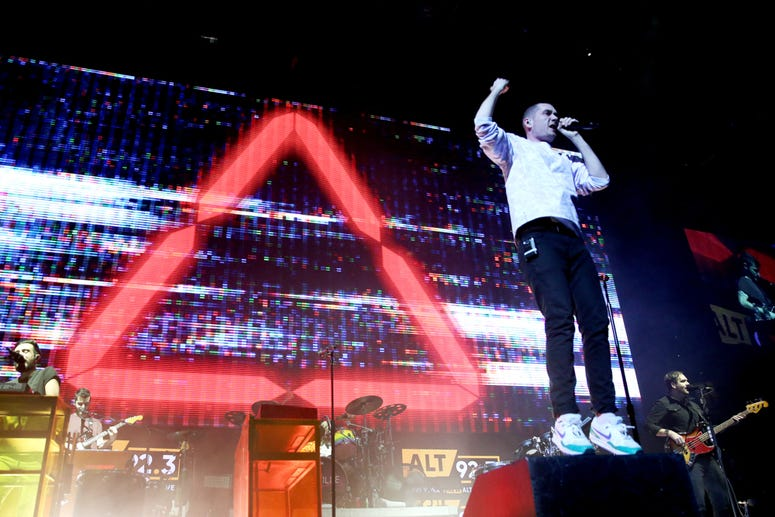 Bastille perform at Not So Silent Night