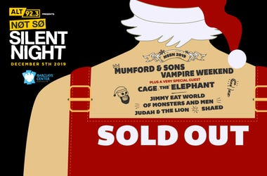 SOLD OUT SANTA