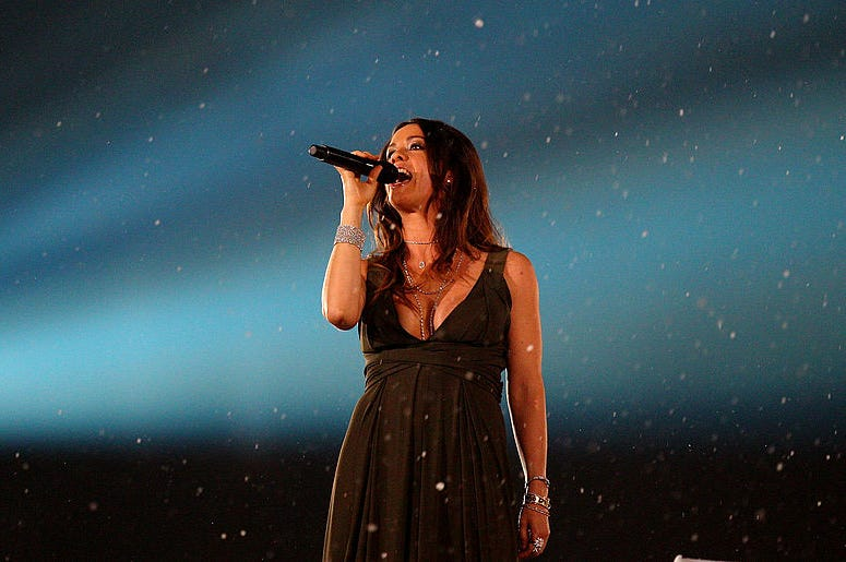 Alanis Morissette at the Olympics