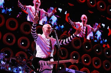 Billy Corgan at Giants Stadium