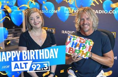 Happy Birthday from ALT 92.3