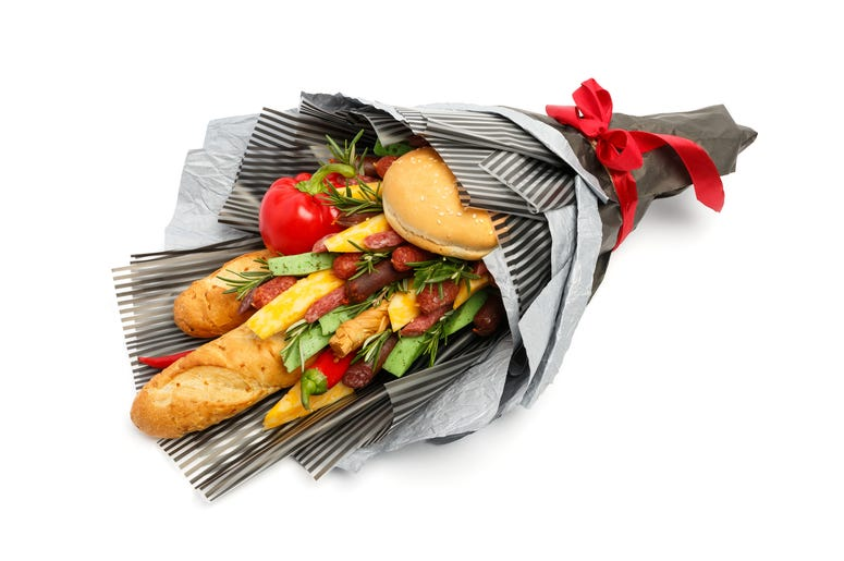Bread Bouquets