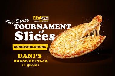 Congrats Danis Pizza