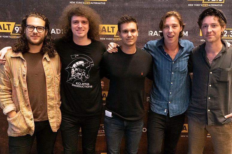 Catfish & the Bottlemen meet fans backstage at Hammerstein Ballroom