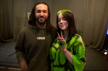 Pete Wentz and Billie Eilish