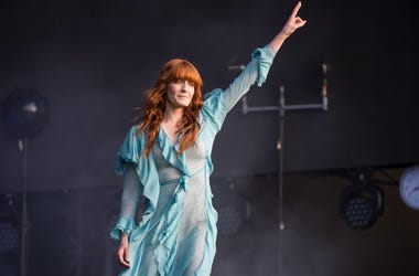 Florence Welch of Florence + The Machine