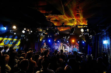 "Guster performs covers from Violent Femme's self titled 1982 album for ""MTV2 Album Covers"" held on November 25, 2003 at Arlene's Grocery, in New York City."