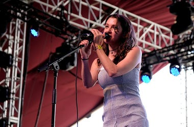 Meg Myers Performs at Coachella