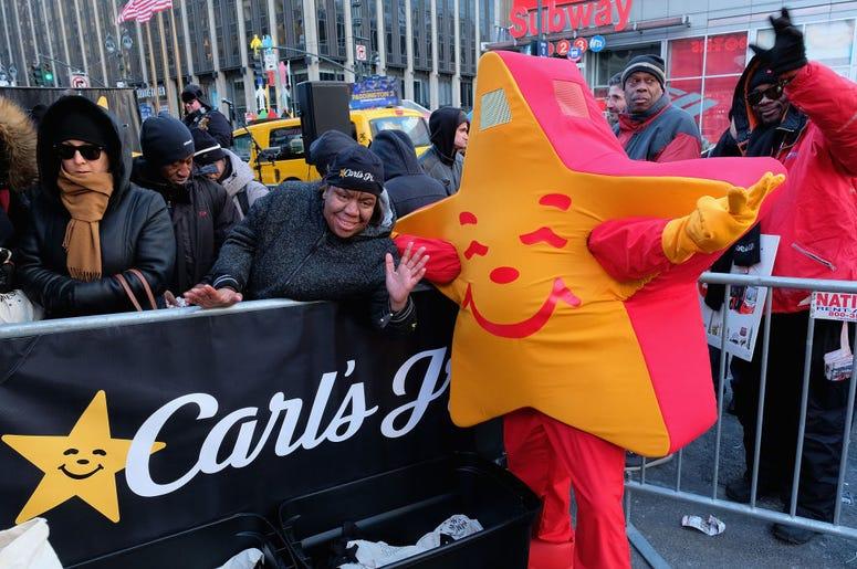 Carl's Jr. in NYC
