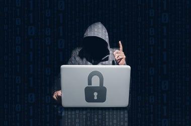 Evil Hacker Man