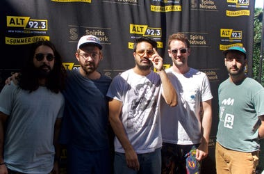 Young The Giant Meet Fans at ALT 92.3 Summer Open Set 2