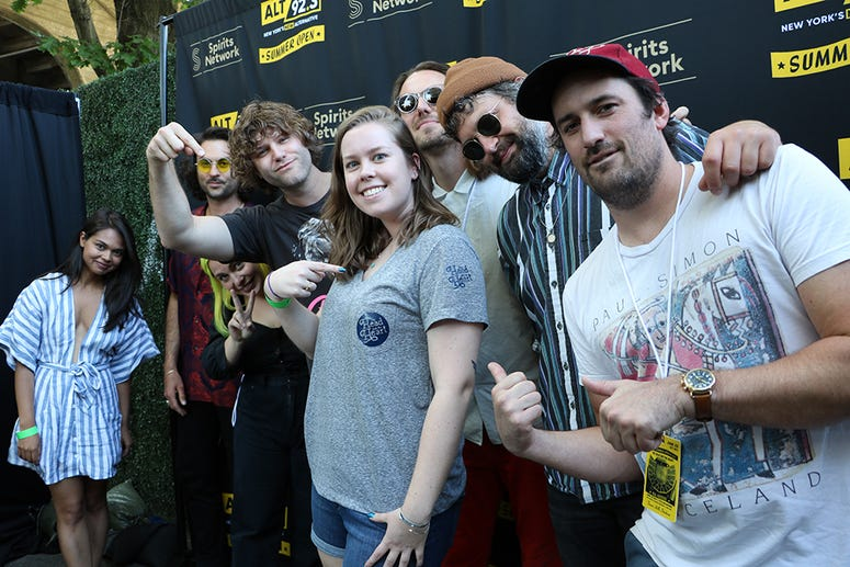 The Head and the Heart Meet Fans at ALT 92.3's Summer Open Set 2