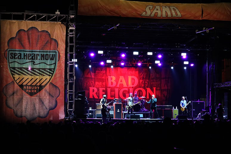 Bad Religion Perform at Sea Hear Now Festival 2019 in Asbury Park, NJ